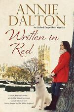 Written in Red: A spy thriller set in Oxford with echoes of the cold w-ExLibrary