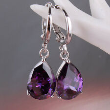 Forever-classic Jewelry!18k white gold filled Swarovski crystal drop earring