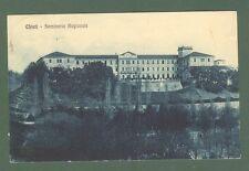 Abruzzo. CHIETI. Seminario Regionale. Cartolina d'epoca viaggiata nel 1916.
