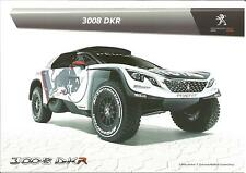 NEW Carte Postale Postcard CP PEUGEOT 3008 DKR Rally Paris Dakar 2017 RED BULL