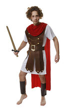 FANCY DRESS ROMAN GENERAL SOLDIER ARMY COSTUME FITS 44""