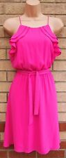 FLORENCE FRED CUPCAKE PINK FRILL STRAPPY BELTED SKATER A LINE PARTY DRESS 12 M