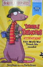 Horrible Histories Terrible Trenches by Terry Deary World Book Day 2014 New