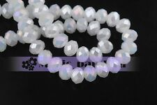 500pcs 3x2mm Wholesale Rondelle Faceted Crystal Glass Charms Loose Spacer Beads