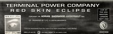 """4/9/93PGN24 TERMINAL POWER COMPANY : RED SKIN ECLIPSE ADVERT 3X11"""""""