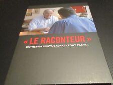 "DVD NEUF ""LE RACONTEUR : ENTRETIEN COSTA GAVRAS - EDWY PLENEL"" documentaire"