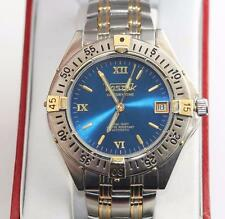 VOSTOK KOMANDIRSKIE CENTURY TIME Russian Automatic Two Tone Blue Dial Watch 7""
