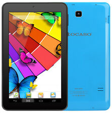 "Kocaso 7"" Inch Android 5.1 8GB Tablet Quad Core PC 1GB RAM Dual Camera (Blue)"