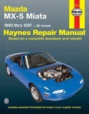 1990-1997 Haynes Mazda MX-5 Miata Repair Manual