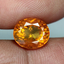 1.78 cts - Oval Cut - Natural Mexico Fire Opal With Rare Red Needle - BC388