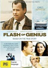 Flash Of Genius [ DVD ] BRAND NEW & SEALED, Region 4, FREE Next Day Post...7350