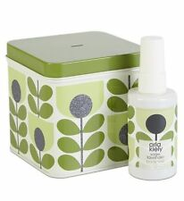 Orla Kiely Sage and Lavender Body Mist Bauble in a Tin 76ml CHRISTMAS GIFT