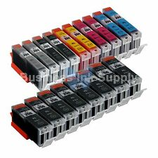 18* PK Canon PGI-250XL CLI-251XL Compatible Ink Cartridge PGI-250 CLI-251 8xPGI
