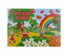 Purple Peach Fun Stickers RAINBOW Sticker Album - Color: Rainbow