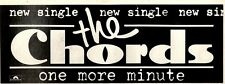 9/5/81PGN38 SINGLE ADVERT 15X5 THE CHORDS : ONE MORE TIME