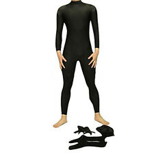 Black Unisex Spandex Lycra Catsuits S-XXL - Free shipping