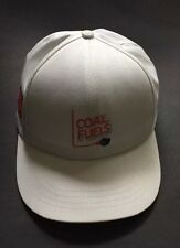 Union Wear Coal Fuels Workers United 88 Embroidered Hat Cap White Usa