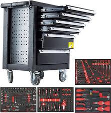 Werkzeugwagen mit Werkzeug - Werkstattwagen gefüllt - Werkzeugschrank rollbar