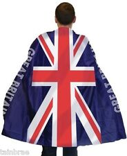 Adults Union Jack Flag Great Britain Body Cape