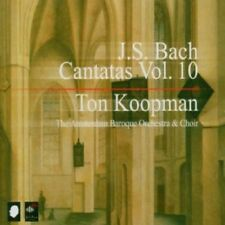 Ton Koopman, J.S. Bach - Complete Cantatas 10 [New CD]