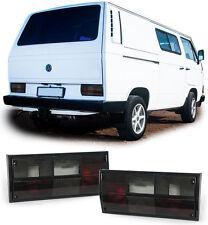 RÜCKLEUCHTEN SCHWARZ für VW Bus Kasten Transporter T2 T3 79-92
