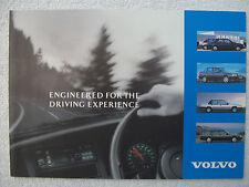 Volvo - 440,460,480,940,960 Saloons/Estates,850 models - brochure 1992/1993