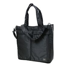 New Yoshida PORTER TANKER 2WAY TOTE BAG 622-06673 Black From JP