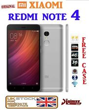 "2016 5.5"" XIAOMI REDMI NOTE 4 HELIO X20 decacore fhd dual sim ANDROID 2+16GB uk"