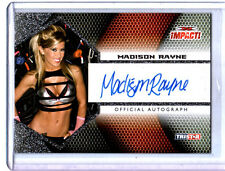 TNA Madison Rayne 2009 Tristar Impact SILVER Authentic Autograph Card