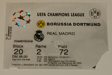 Ticket for collectors CL BVB Borussia Dortmund Real Madrid 1998 Germany Spain