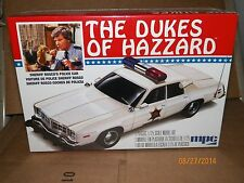 MPC 1/25 MODEL KIT DUKES OF HAZZARD ROSCOS CAR #MPC-707L FREE PRIORITY SHIPPING