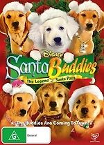 Santa Buddies: The Legend of Santa Paws * NEW DVD *