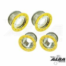 LTR 450 LTZ 400  Front  Rear Wheels  Beadlock 10x5  9x8  Alba Racing  sl/yl