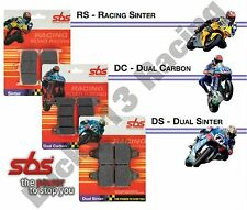 SBS DC Dual Carbon front brake pads race use Yamaha XJR 400 R R2 XT 660 X
