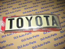 Toyota FJ40 BJ40 Rear Quarter Panel Body Emblem Passenger Side Rear 1972-1980