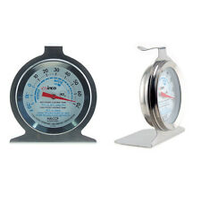 Refrigerator Thermometer - Stainless Temperature Gauge -20ºF to 80ºF Kegerator