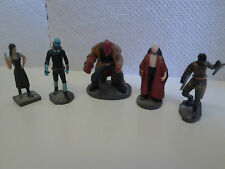 Set of 5 x Hellboy Gacha Collection Figures incls Abe, Liz, Kroenen & Rasputin