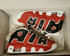 "NIKE AIR MORE UPTEMPO GS ""CHICAGO BULLS"" SZ 6.5Y JORDAN RETRO BRED ALL STAR OVO"