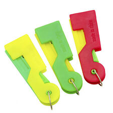 Easy 3PCS Automatic Sewing Needle Device Threader Thread Guide Tool Household