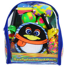 ItzaSplasher Back Pack Carrying Case Toy Set for Beach Pool Camp Outdoor Kids
