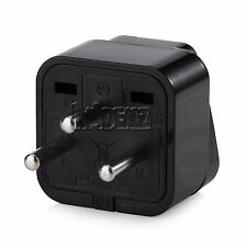 Israel Type H Plug Power Adapter Travel Adapter Charger 3Pin Standard - Black