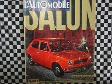 revue L'AUTOMOBILE 1971 SALON