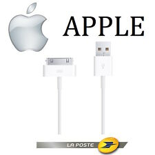 CORDON D'ALIMENTATION CABLE CHARGEMENT CHARGEUR USB ORIGINAL APPLE IPHONE 4s , 4