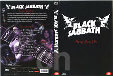 BLACK SABBATH - Never Say Die (1978) DVD NEW