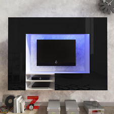 TV Wall Unit NEXT modern set media centre ,High Gloss FREE DELIVERY+ LED lights
