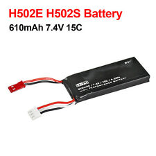 New 610mAh 7.4V Li-po Replacement  Battery for Hubsan X4 H502S and H502E