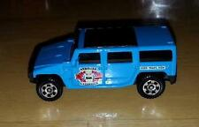 New Loose Matchbox Light Blue Hummer H2 SUV from 5 Pack Hawaiian Excursion
