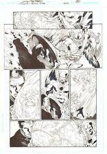 JLA 80-Page Giant 2011 #1 p.6 Hawkman & Etrigan The Demon 2011 art by Joe Prado