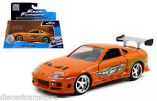 BRIAN'S TOYOTA SUPRA SUPRA FAST & FURIOUS MOVIE 1/32 DIECAST CAR JADA 97345