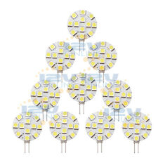 10PCS 12Volt LED G4 Replace Bulb RV Marine Yacht Boat Motorhome bi-pin JC10/20W